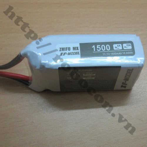 LKRB78 Pin lithium 3s 11.1V - 1500 mAh