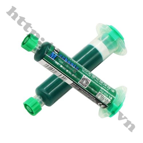 Keo Phủ Mạch UV Mechanic 10cc Màu Xanh Lá