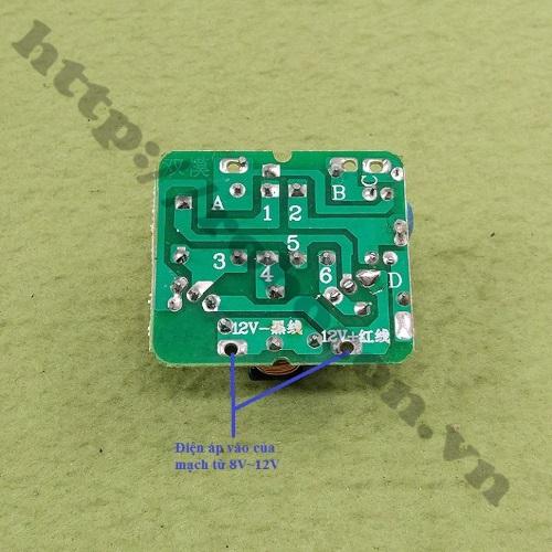 MDL196 Mạch Inverter Chuyển Đổi Điện 12V DC Lên 220V-40W