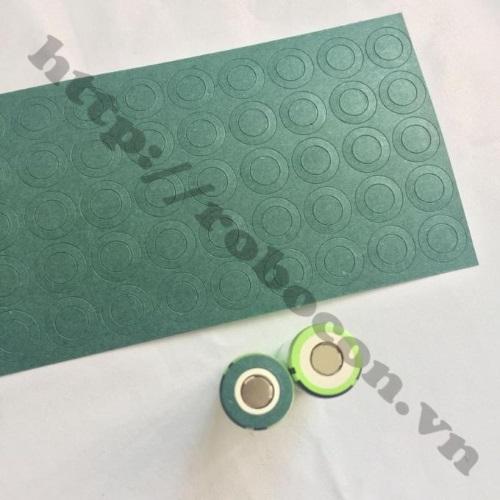 PPKP166 Miếng Dán 1 Cell Bảo Vệ Cực Dương Pin 26650