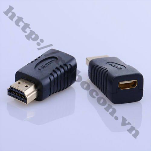 CO130 Đầu Chuyển Đổi Mini HDMI Cái Sang HDMI Đực