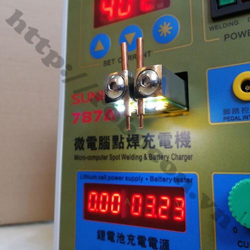 PPKP21 Máy Hàn Cell Pin 18650 Sunkko787A