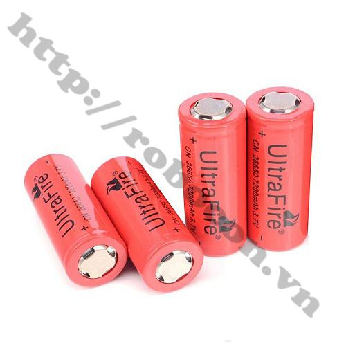 PPKP35 Pin Sạc 26650 3.7V 7200mAh Dung Lượng Cao