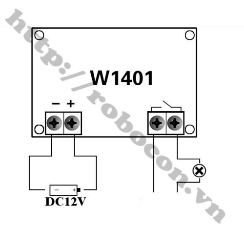 MDL165 Module Khống Chế Nhiệt Độ Đầu Dò XH-W1401