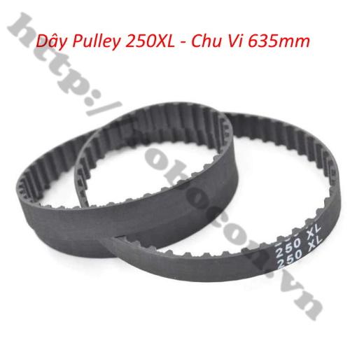 PKK820 Dây Pulley 250XL – Chu Vi 635mm