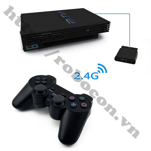Tay Điều Khiển PS2 Không Dây các chân nối