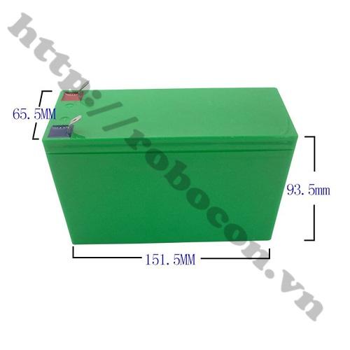 PPKP171 Vỏ Ắc Quy Cho Pin 18650 Kèm Khung Cố Định