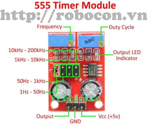 MDL69 Module Tạo Xung NE 555