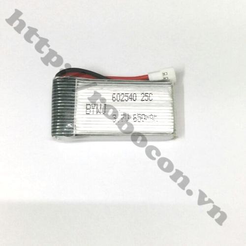 LKRB77 Pin lithium 3.7V - 600 mAh