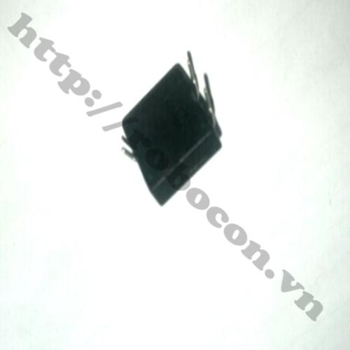 CO85 Nút nhấn nhả 3 chân đen
