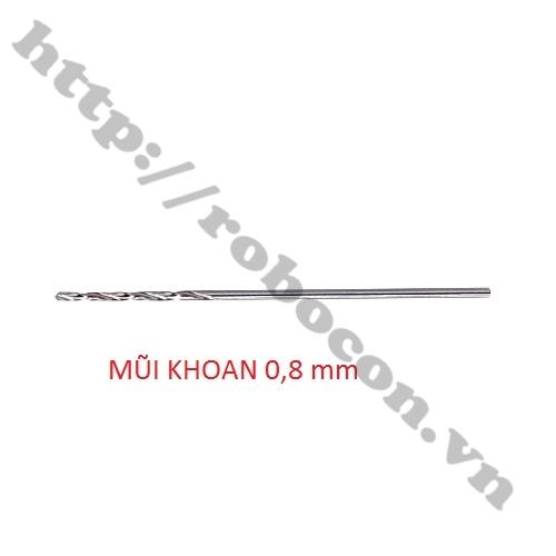 PKK197 MŨI KHOAN 0.8mm