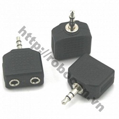 PKAT20 Jack 3,5mm Audio 1 Ra 2 Loại Thường