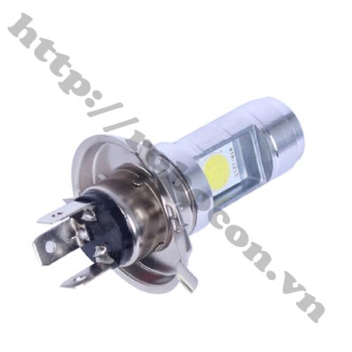 LED76 Bóng LED Pha Cho Xe Máy, Xe Đạp Điện Loại 3 Chân Đực