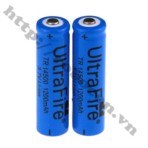 PPKP04 Pin sạc 14500 Ultrafire 3.7V 1200mah