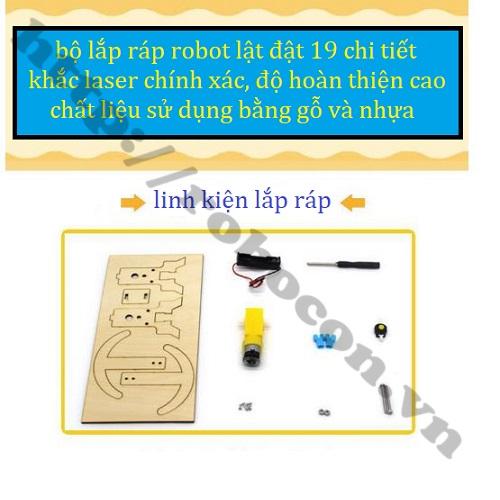BỘ KIT LẮP RÁP ROBOT LẬT ĐẬT 19 CHI TIẾT