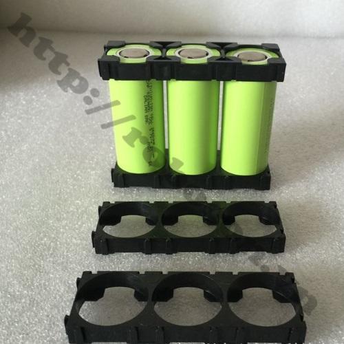 Khung đế pin 26650 loại 3 cell