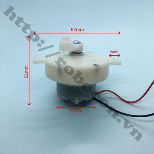 PKK879 tuốc năng điện 5 – 12V cho động cơ không chổi than brushless chế quạt