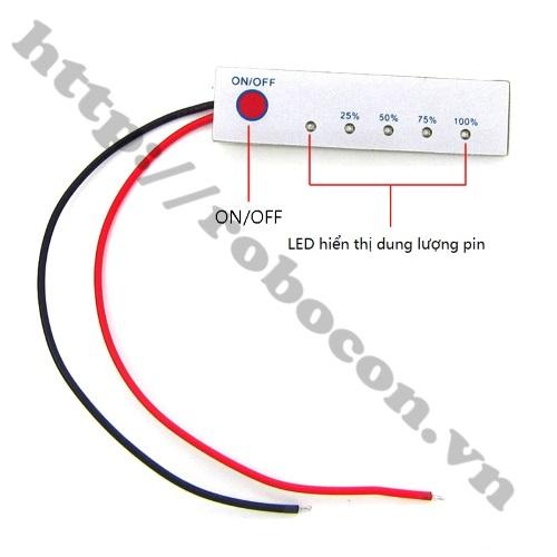 PPKP79 Mạch Báo Dung Lượng Pin 3 Cell, Pin Ắc Quy