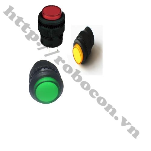 CO75 Nút nhấn có đèn 4 chân R16-503AD