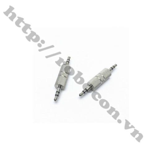 PKAT100 Jack Nối 3.5mm Đực Ra 3.5mm Đực