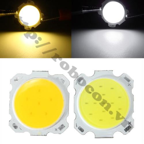 LED130 Nhân Đèn Led COB 24V-7W Trắng Ấm