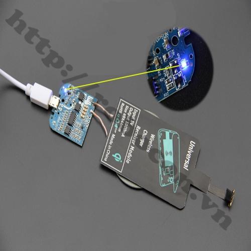 MDL137 Module sạc điện thoại không dây có LED
