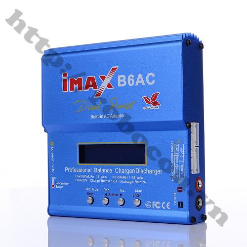 PPKP29 Bộ Sạc Đa Năng Imax B6AC Cho Pin Lipo-Li-Ion (Loại Tốt)