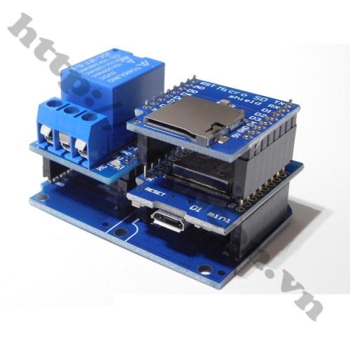 Ứng Dụng Module Kit RF Thu Phát Wifi ESP8266 NodeMCU Lua D1 Mini
