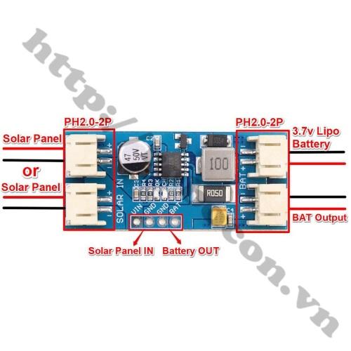 MDL359 Mạch Sạc Pin Lithium Năng Lượng Mặt Trời 9V 2A MPPT CN3791