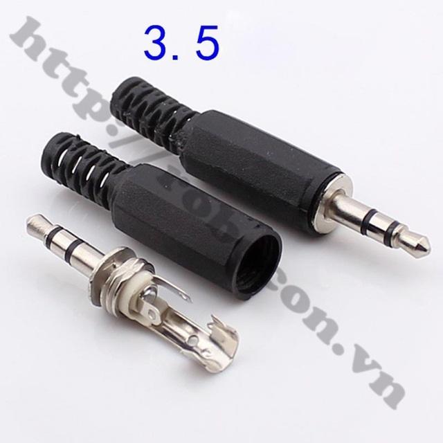 PKAT53 Đầu jack Audio 3.5MM Đực 4 Kênh