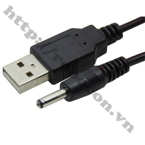CO143 Dây Nguồn Cổng USB Ra Đầu DC 3.5X1.35mm