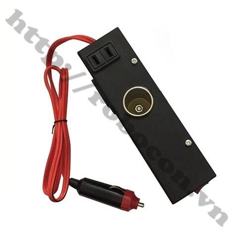 MDL296 Bộ Đổi Điện Inverter 12-24V Lên 220VDC Chuyên Dụng Cho Ô Tô