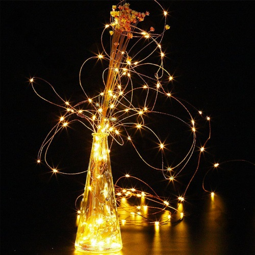 LED70 Dây đèn led ánh sáng vàng trắng dài 5m