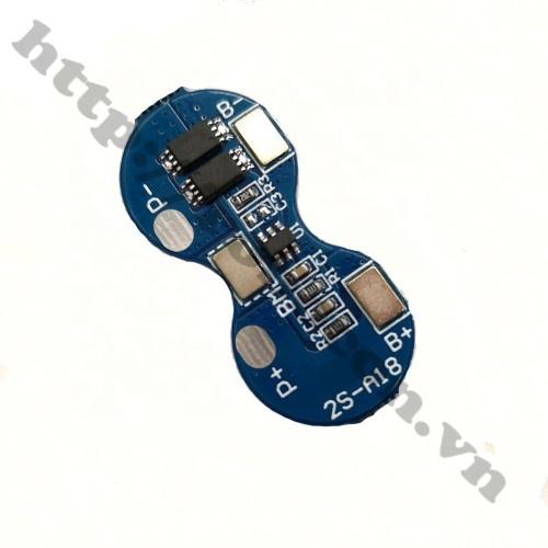 PPKP202 Mạch Sạc Và Bảo Vệ Pin 2S 7.4V 5A