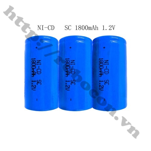 Pin Sạc Ni-CD SC 1800mAh 1.2V