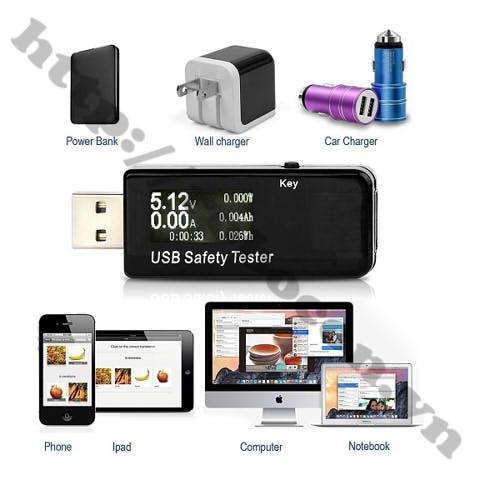 MDL190 USB Tester J7-T Kiểm Tra Điện Áp Pin Sạc