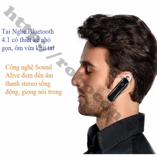 PKAT51 Tai nghe Bluetooth Music  4.1 - M165 Cao Cấp