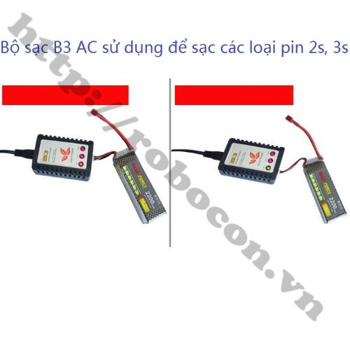 PPKP84 Bộ Sạc Pin Imax B3 AC Sạc Pin 2S 3S