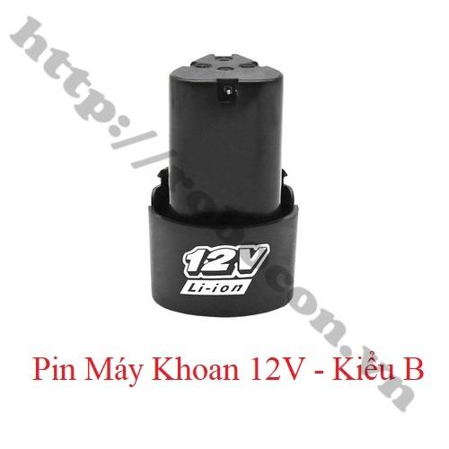 PPKP156 Pin Sạc 12V – Pin Máy Khoan Kiểu B