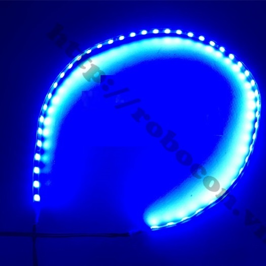LED135 Led Dây Trang Trí Ô Tô, Xe Máy 12V 50CM Xanh Dương