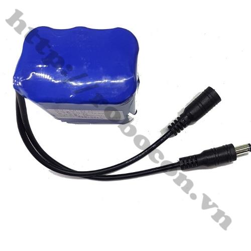 CBM97 Khối Pin 3S2P Lithium 12V 2400mAh Pin 3S Kèm Sạc