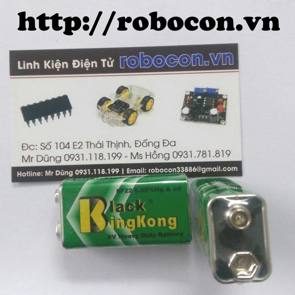 LKRB60 Pin 9V thường - Black Kingkong