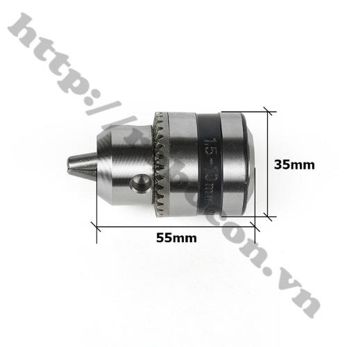 PKK461 Đầu Mang Ranh B12 Kẹp Mũi Khoan 1.5-10mm