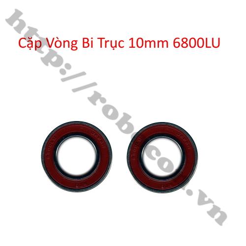 Cặp vòng bi trục 10mm 6800LU