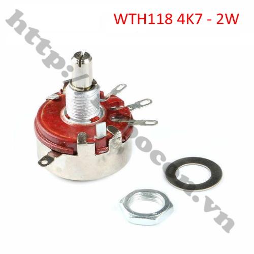 BT73 chiết áp WTH118 4K7 ohm 2W
