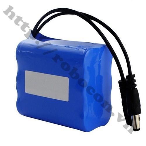 PPKP01 Pin Sạc Lithium 3S 18650 11.1V-3600mah