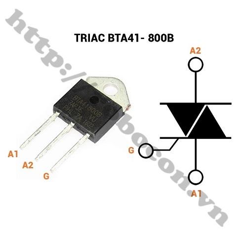 Triac BTA41 - 800B