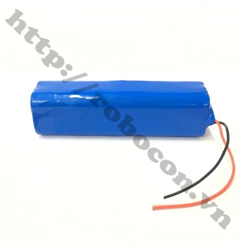 CBM118 Pin Robocon - Pin Sạc Lithium 4S 2P 18650 14.8V-16.8V 4800mah