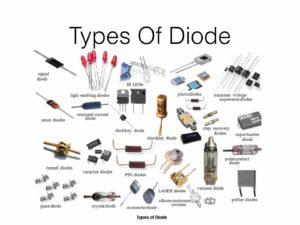 Các loại diode phổ biến