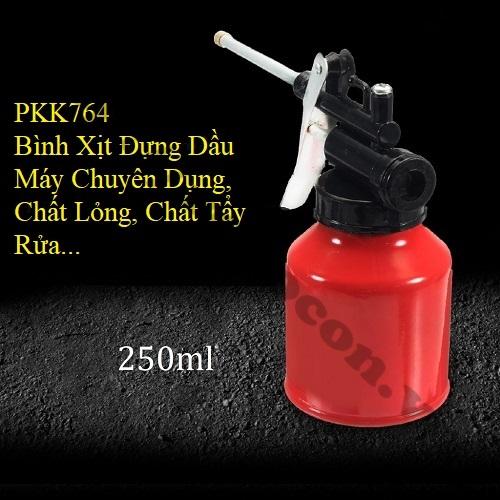 PKK764 Bình xịt đựng dầu máy chuyên dụng, chất lỏng, chất tẩy rửa